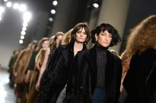 Sam Rollinson models at The Topshop Unique show, Tate Britain, part of London Fashion Week AW2016. Photo Credit should read Doug Peters EMPICS Entertainment