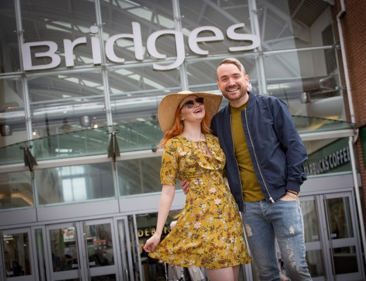 Preview for The Bridges fashion show in Sunderland Picture: DAVID WOOD