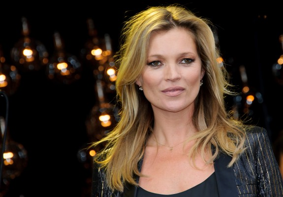 British model, Kate Moss launches her new clothing range at a well known story in Oxford Street, London, Tuesday, April 29, 2014. (Photo by Jonathan Short/Invision/AP)