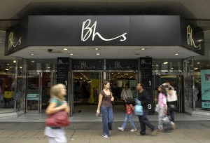 File photo dated 31/07/08 of shoppers walking past a British Home Stores shop on Oxford Street in London, as the high street retailer has collapsed into administration, putting 11,000 jobs at risk and threatening the closure of up to 164 stores.