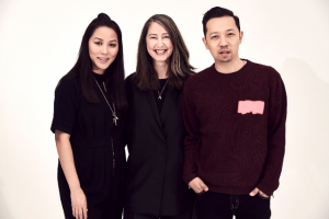Photo by H&M. From left: Carol Lim, Ann-Sofie Johansson and Humberto Leon.