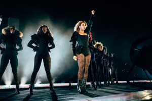 IMAGE DISTRIBUTED FOR PARKWOOD ENTERTAINMENT - Beyonce performs during the Formation World Tour at M&T Bank Stadium on Friday, June 10, 2016, in Baltimore, Md. (Photo by Andrew White/Invision for Parkwood Entertainment/AP Images)