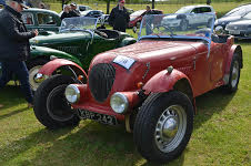 A vintage car at the Reliability Run / Image courtesy of Beamish Museum PR