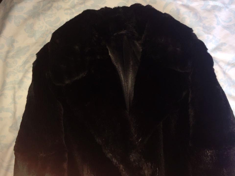 My treasured fur coat.