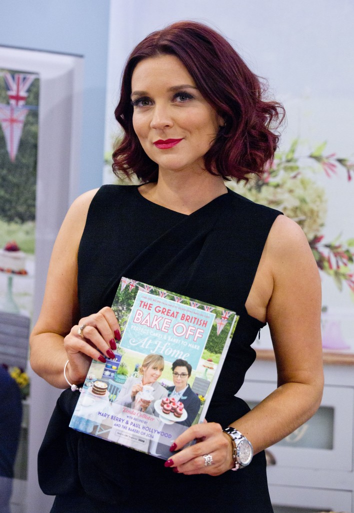 Candice Brown, winner of this years The Great British Bake Off, signs copies of the TV tie-in recipe book at Waterstones in Piccadilly, London.