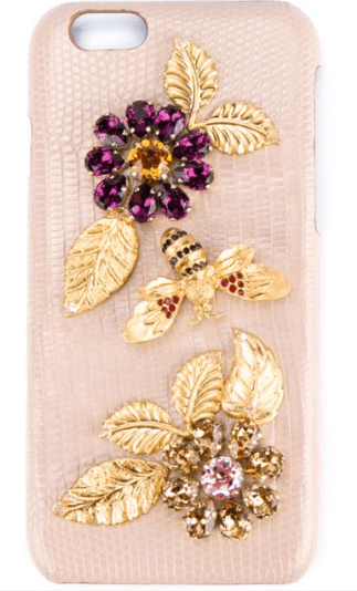 Dolce & Gabbana Embellished Phone Case £475 at Harrods