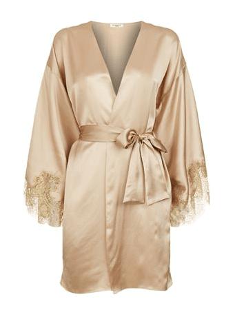 Gilda & Pearl Short Silk Kimono £575