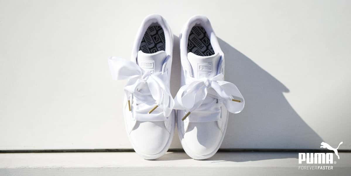 Puma Basket Heart Trainers