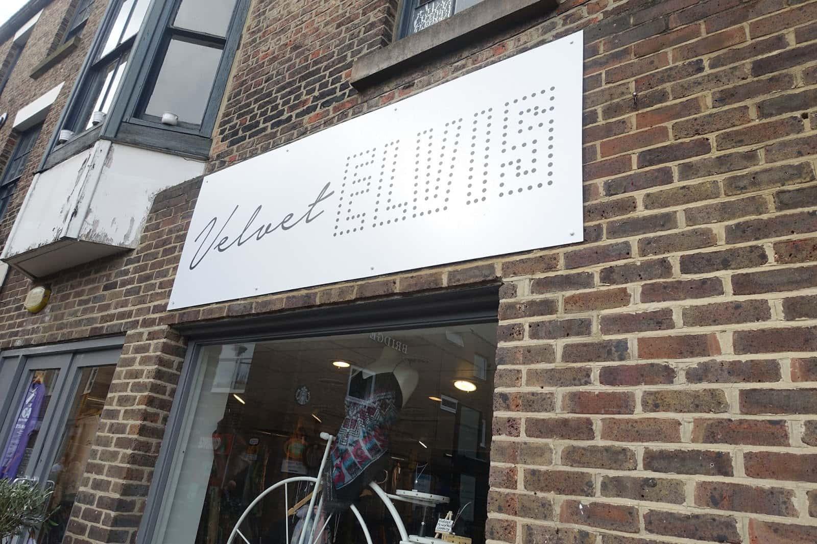 Velvet Elvis shop