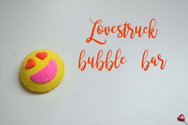 Lovestruck bubble bar