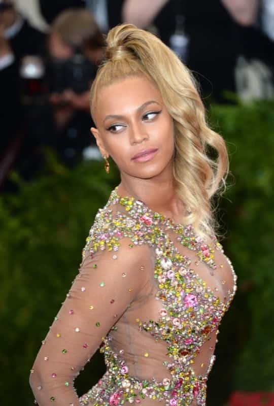 Beyonce Knowles attending The Metropolitan Museum of Art Met Gala, in New York City, USA. (Mandatory Credit: Doug Peters/EMPICS Entertainment)