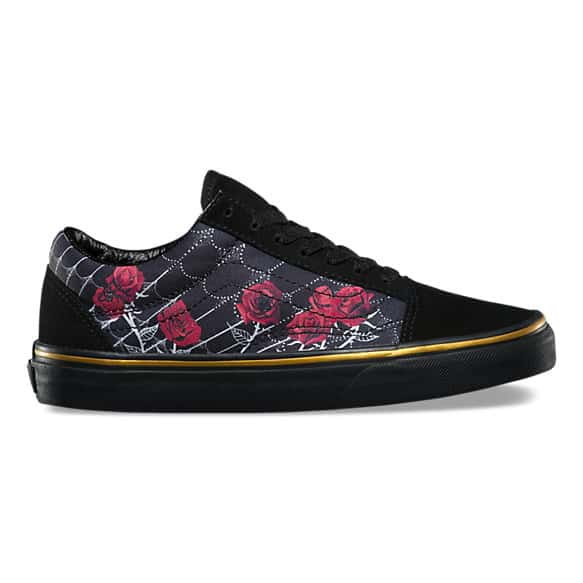 vans rose thornes