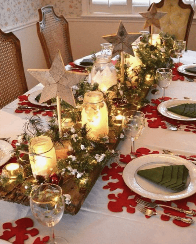 dont worry we have scoured the internet well pinterest to find you some simple christmas table ideas that can easily be done last minute