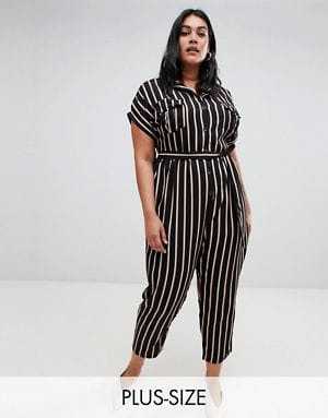 NEW LOOK CURVE JUMPSUIT